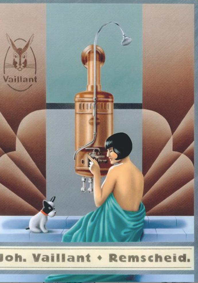 Razvitak Vaillantovog zaštitnog znaka od 1899. do 1991.